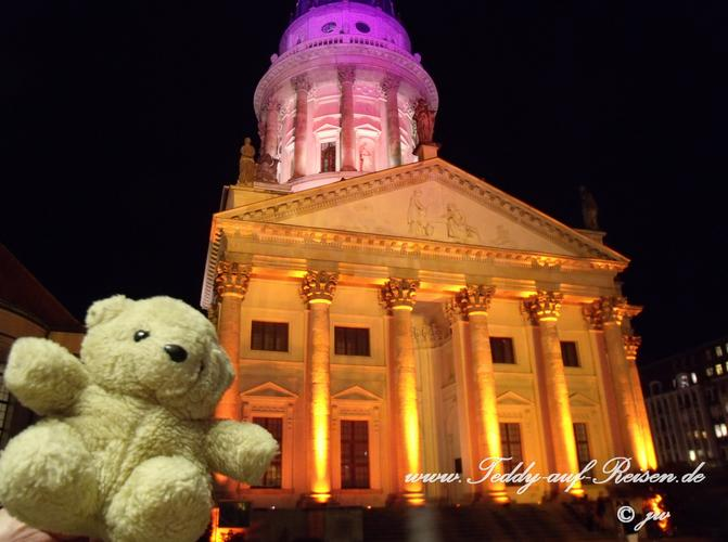 Teddy beim Festival of Lights