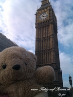 Teddy in London