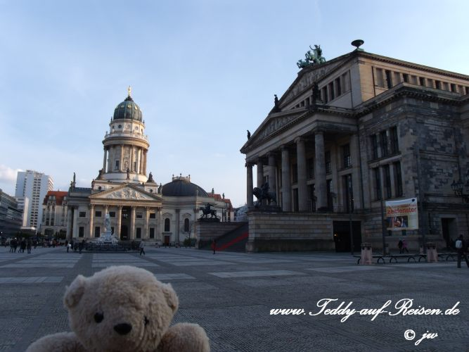 Teddy am Gendarmenmarkt