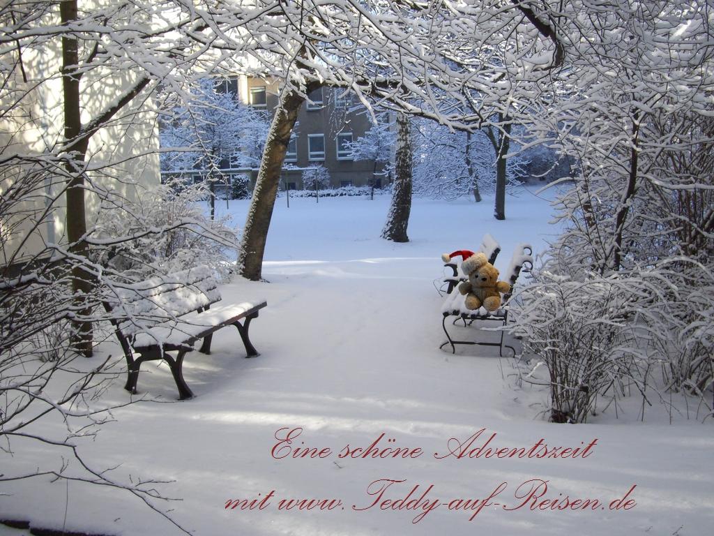 Adventskalender 2013 teddy auf reisen - Advent hintergrundbilder ...